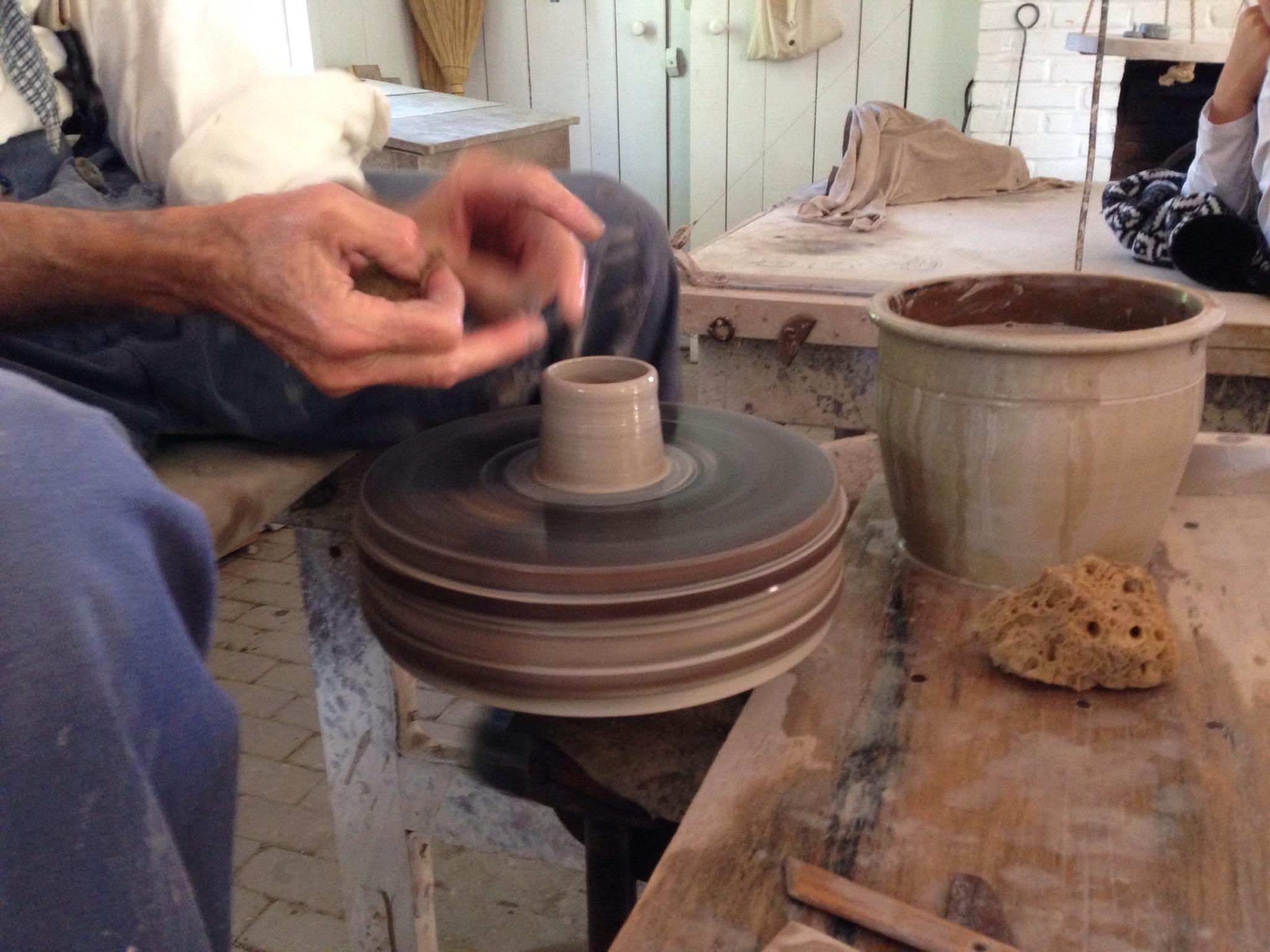 Pottery. A poem.